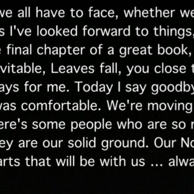 Alexis Castle's graduation speech in the last episode of Castle.