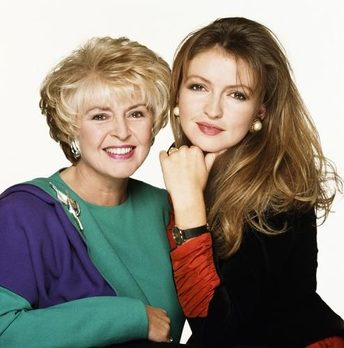 """Gloria Hunniford With Daughter Caron Keating by Terry O'Neill   Television presenter Gloria Hunniford with her daughter Caron Keating, also a TV presenter.  Limited Edition C-Print Signed and Numbered  16"""" X !6"""" / 20"""" x 20"""" / 24"""" x 24""""  30"""" x 30"""" / 40"""" x 40""""  48"""" x 48"""" / 60"""" x 60"""" / 72"""" x 72""""  For questions or prices please contact us at info@igifa.com     IGI FINE ART"""