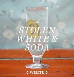 - 30mls (1 fl oz) STOLEN white rum 150mls (5 fl oz) soda/sparkling ...