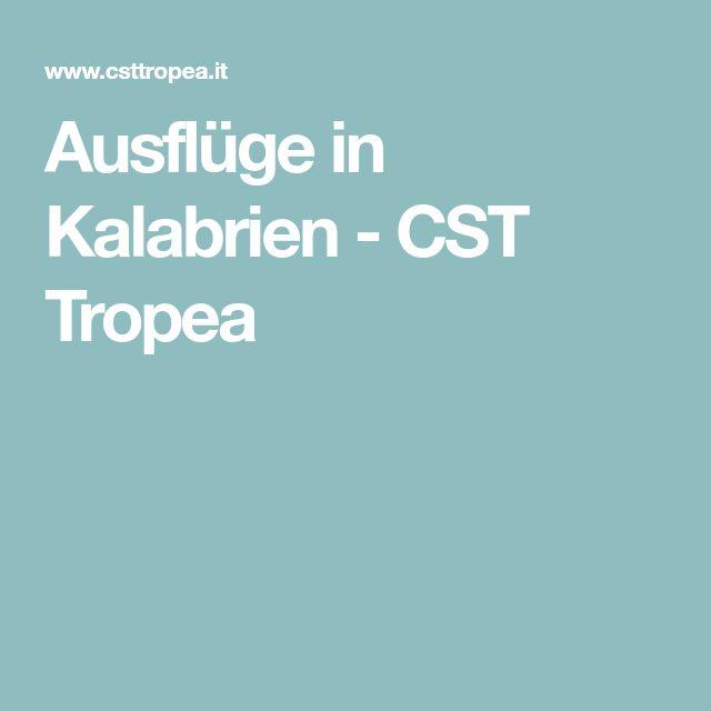 Ausflüge in Kalabrien - CST Tropea