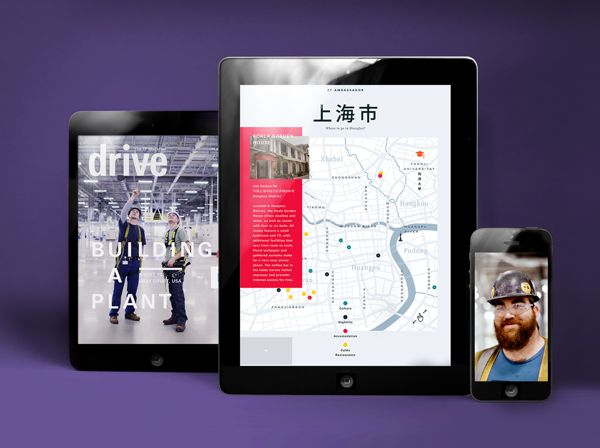 drive Magazine - iOS Apps 2013 on Behance