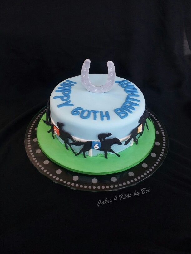 Horse Racing cake made by Cakes 4 kids by Bec :)