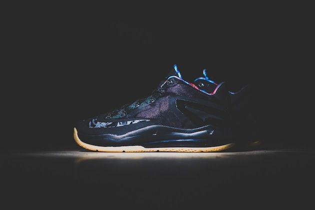 #Nike LeBron 11 Low « Black/Gum » #sneakers