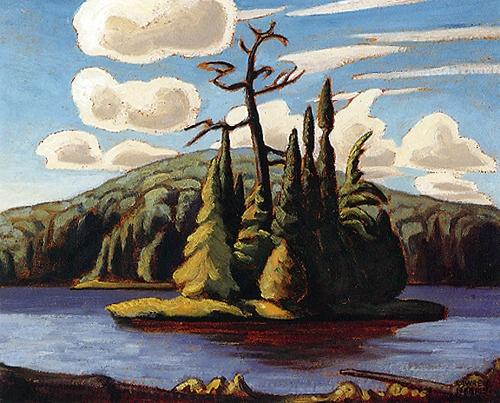 Island, Algonquin Park c.1916  Lawren Harris