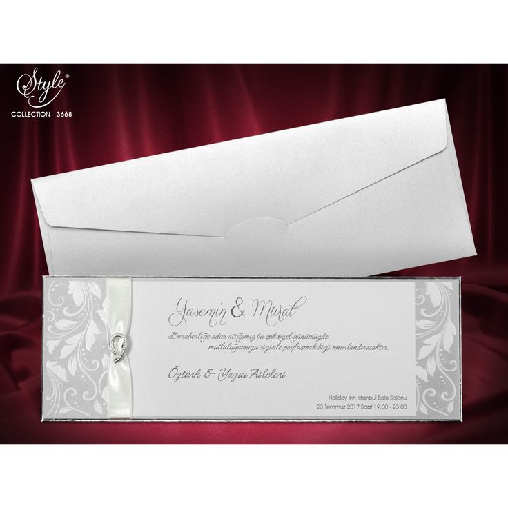 Style Düğün Davetiyesi Modelleri 3668
