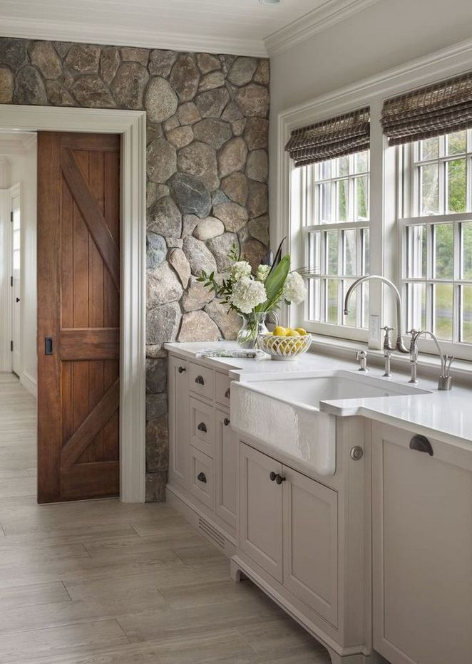 +32 Choosing Kitchen Design Ideas Farmhouse Rustic…