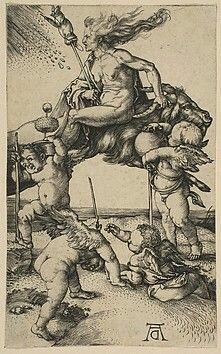 The Witch Albrecht Dürer  (German, Nuremberg 1471–1528 Nuremberg) ca. 1500