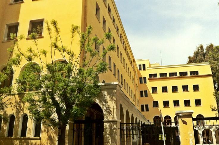 Asomaton Petraki Monastery. (Walking Athens, Route 12 - Concert Hall)