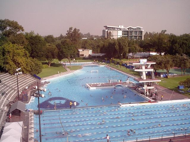 Alberca Olimpica C.U. Ciudad de México.