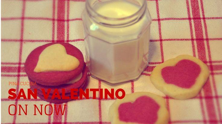 #Biscotti al profumo di arancia per San Valentino? Certo che siiii!! #Sanvalentino #Biscuits #VideoRicetta #Valentine #SanValentino #Dolci #Sweet