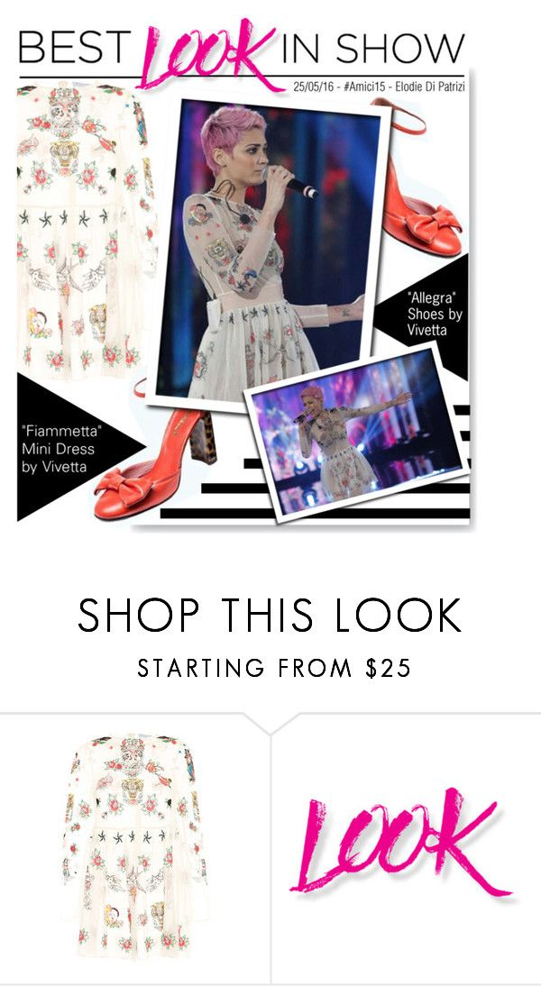 """Best Look In Show: Elodie Di Patrizi"" by serepunky ❤ liked on Polyvore featuring VIVETTA and NYX"