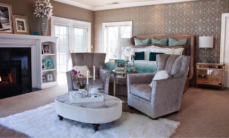 Feminine Master Bedroom Home Fashion Pinterest