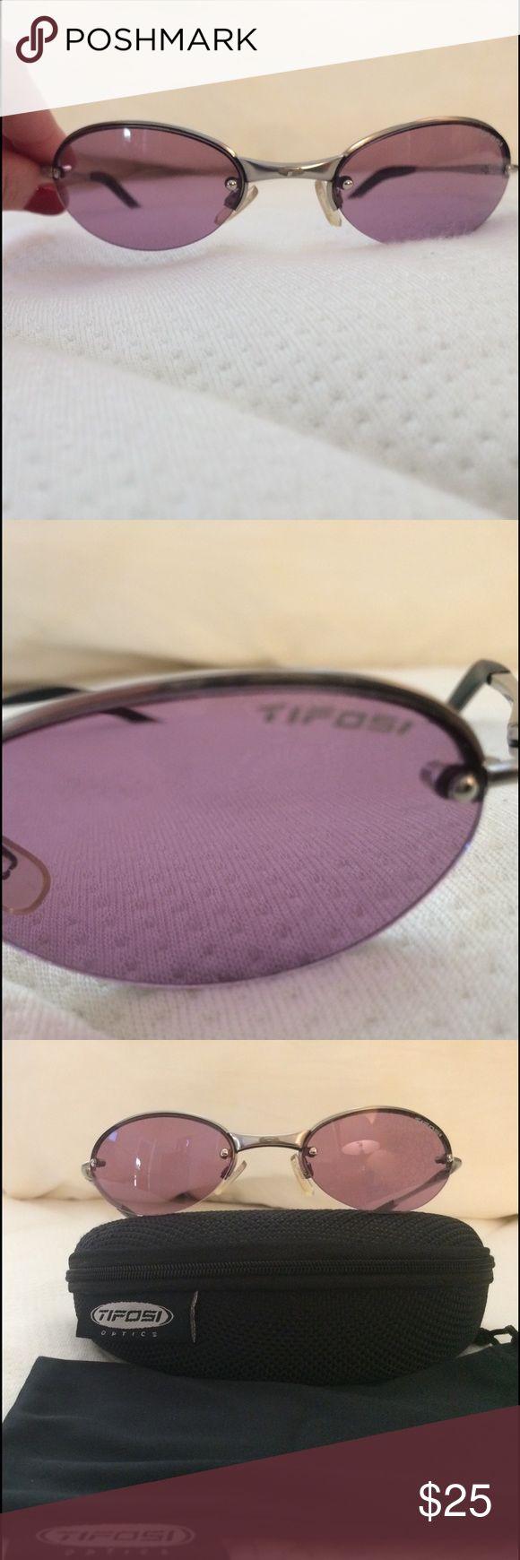 Tifosi 😎 sunglasses Tifosi purple tinted sunglasses. Like new. Rarely worn. Includes soft and hard case. Tifosi Optics Accessories Sunglasses