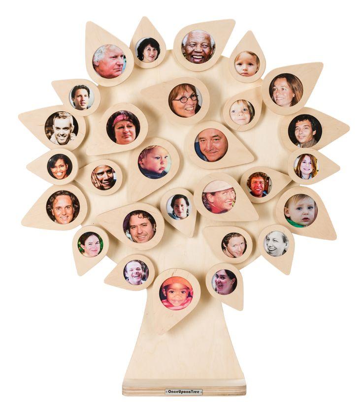 Op zoek naar een heel speciaal cadeau? Deze handgemaakte levensboom heeft 28 fotolijstjes voor alle dierbare mensen en momenten! Een cadeau voor het leven!