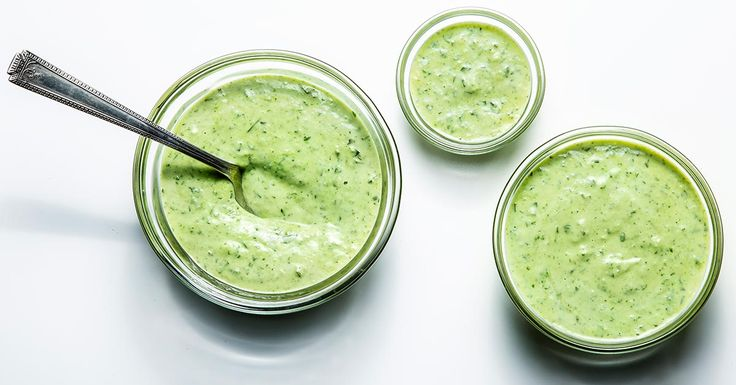 Learn to make an updated green goddess dressing with shallots, garlic, herbs and homemade mayonnaise.