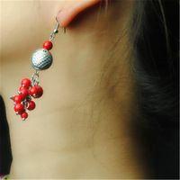 Orecchino di goccia per le donne regalo di compleanno di nozze disegno speciale ciondolo pesce ciondola gli orecchini dei monili accessori d090