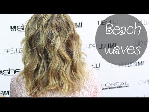 Beach Waves•Onde con la piastra•Merya8 - YouTube