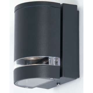 Features Exterior down wall light. IP44 Dimensions Height:150mm Projection   $75