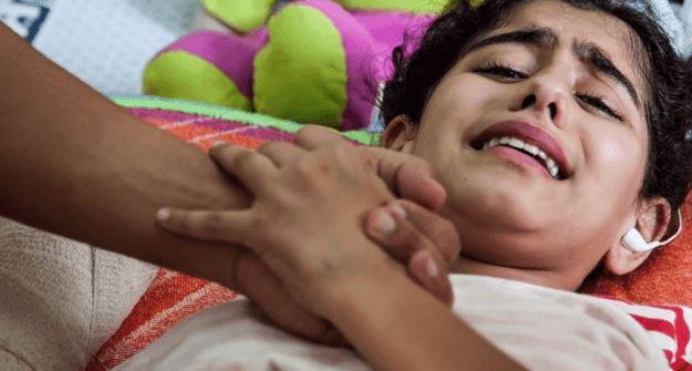 Het lijden van onschuldige kinderen in het Midden-Oosten christelijke sociale communicatie marketing blogging spiritualiteit sociale rechtvaardigheid
