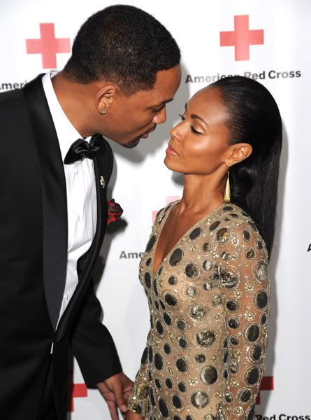 Will and Jada  That look....  All we want is each other and for the entire World to know it❤