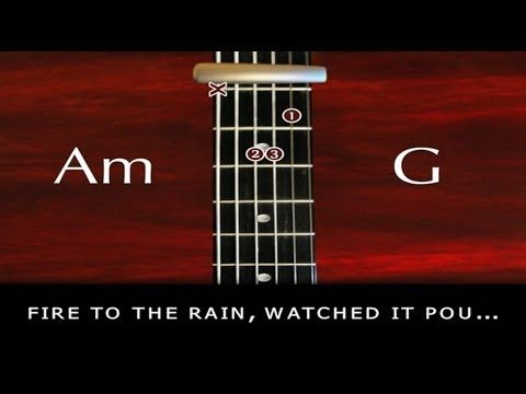 how to play the rain song on guitar