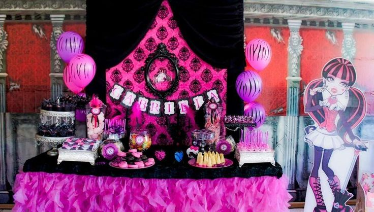 Monster High Birthday Party Ideas & The 91 best Monster High Party Ideas images on Pinterest | Monster ...