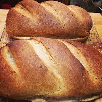 jewish rye bread.  you can make it with or without caraway.  it's super easy.  there's many steps but each one is very clear and easy to make.  do it.  do it now.