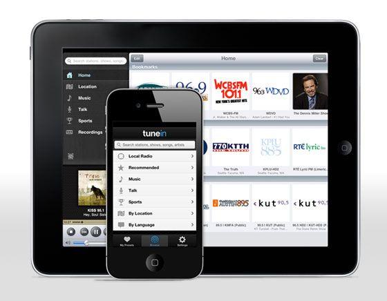 TuneIn Radio Pro : Best iPhone & iPad Radio App
