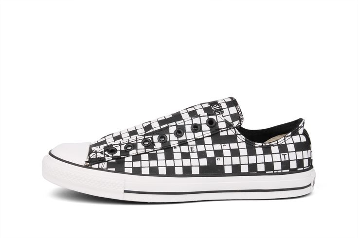 legendarische Converse Special Ox CT Crossworld Slip (Zwart)