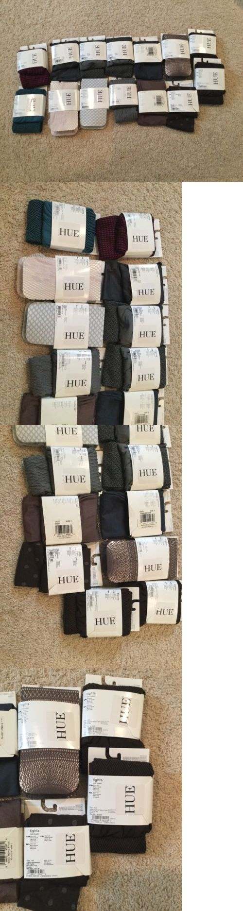 Pantyhose and Tights 11525: Nwt Bulk Mixed Lot Hue Tights M L 14 Pairs -> BUY IT NOW ONLY: $52.99 on eBay!