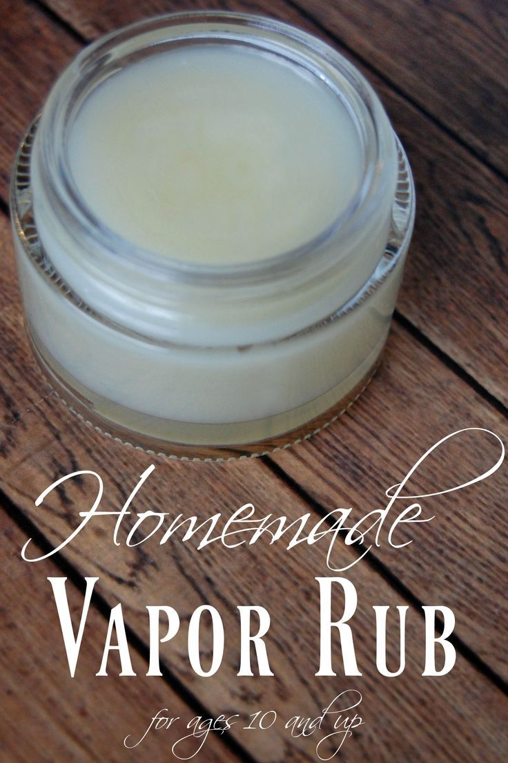 Homemade Vapor Rub - Skip the yucky ingredients in VapoRub and make your own! Just 4 ingredients an you can breathe easy.