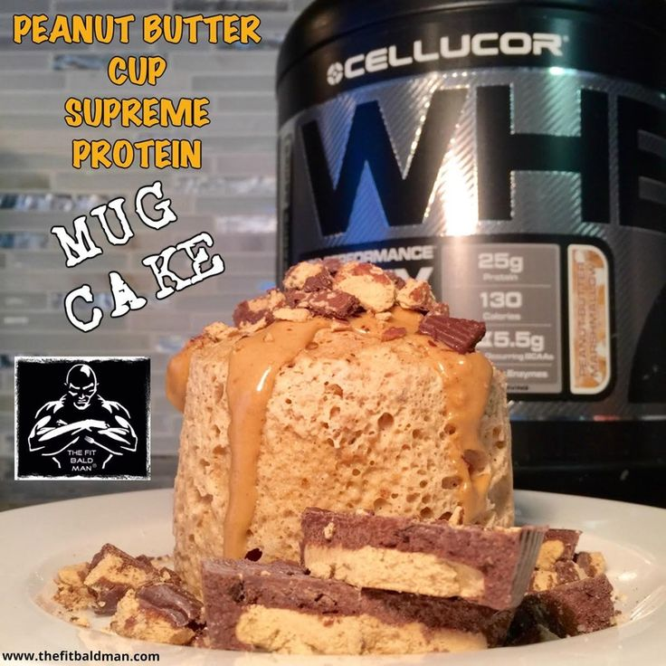 Cellucor Peanut Butter Marshmallow Mug Cake