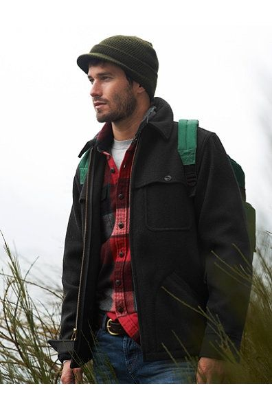 Ll Bean- Featuring Hot Men In Flannel Since 1912. Thanks Angie.