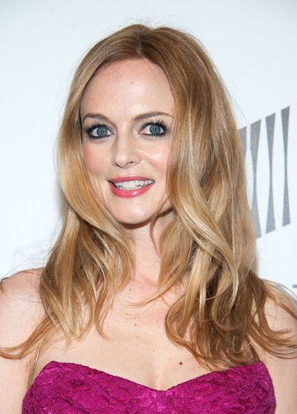 Heather Graham Hair- long waves