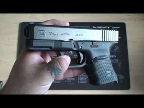 Glock 30 Gen 4 Review | Guns | Hand guns, Guns, Videos