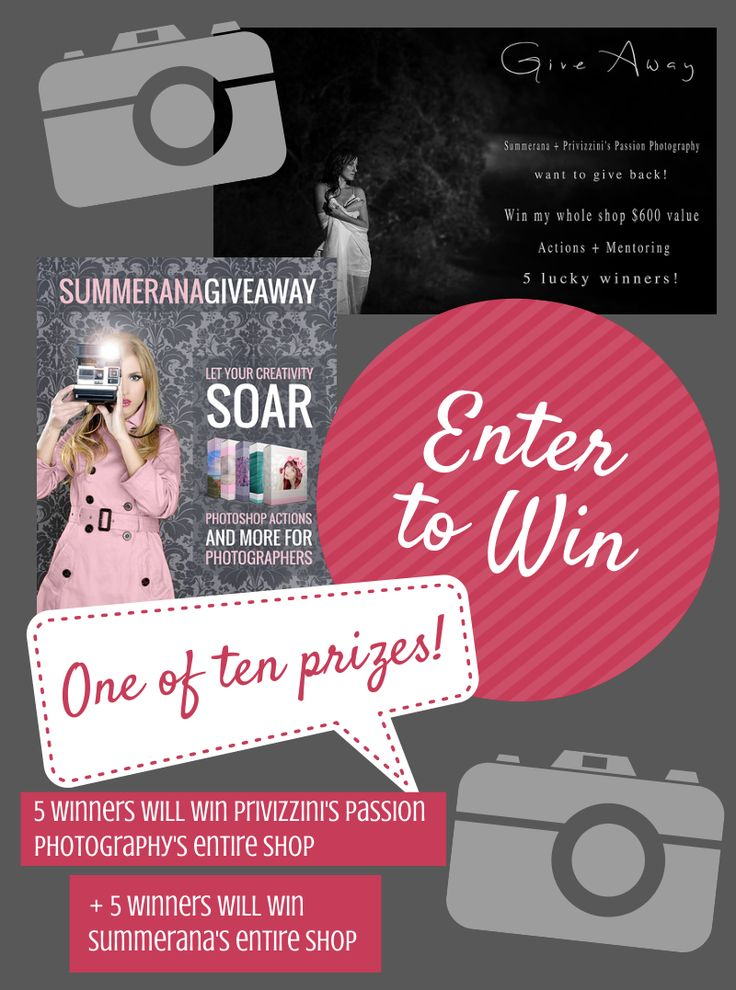 Behind 3 Summerana + Privizzinis Passion Photography Giveaway