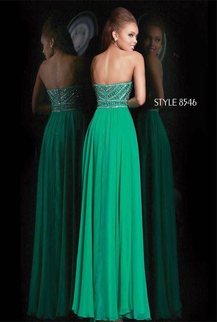 Maravillosos Vestidos para Noche Buena y Fin de Año | Colección de vestidos de fiesta 2015