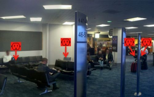 AirportPlugs – a great idea that would be even better with augmented reality: Ideas, Articles, Augmented Reality, Better, Airportplugs