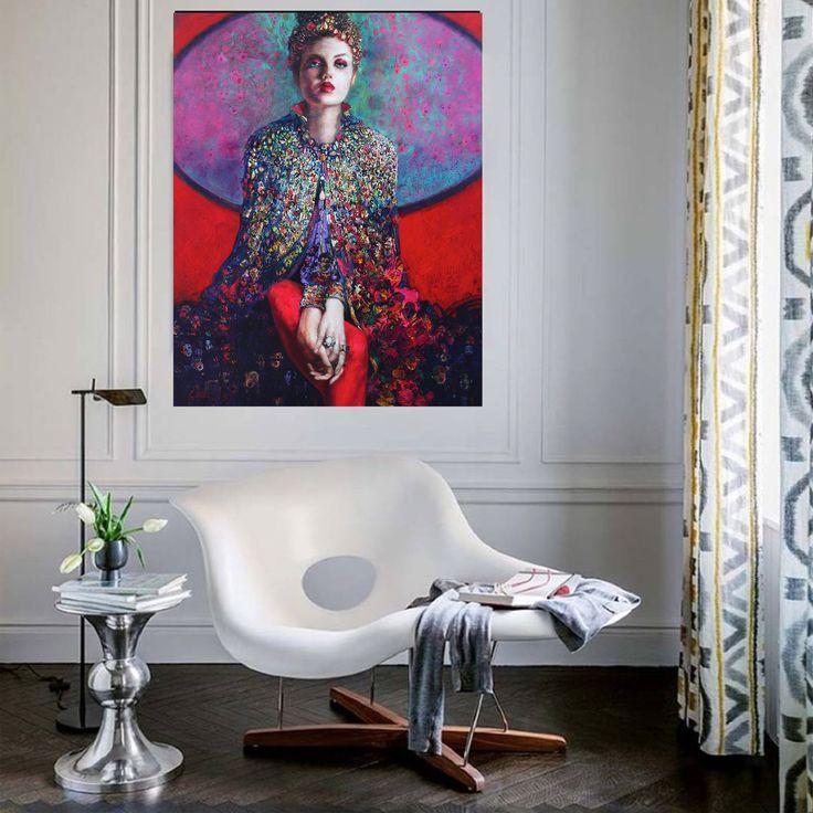 Gaddar Taç / Cruel Crown by Emil Aziz Tuval üzerine Yağlıboya / #Oiloncanvas 85cm x 110cm 18.000₺ / 5.150$  #gallerymak #sanat #ig_sanat #empresyonizm #resim #tablo #contemporaryart #painting #oilpainting #artgallery #artwork #contemporary #artcollector #curator #modernart #portrait #artdealer #kadın #artist #sergi #evdekorasyonu #interiordesign #mimar #mimari #portre #içmimari #dekorasyon #dizayn