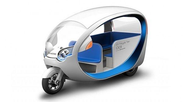 e-Trike – elektrická rikša po filipínsky - AutoMix.sk