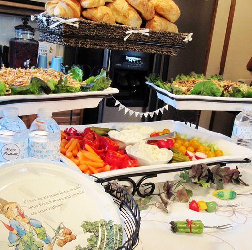 Peter Rabbit Party - Food