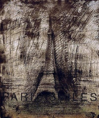 Jim Dine, Paris Smiles in Darkness