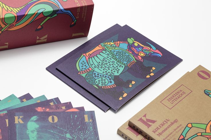 """ARS CAMERALIS COLLECTION: Rhinocerology (Albreht Durer """"Rhinocervs"""") + Monocerology (Aberdeen Bestiary). 2 x posters / 2 x leaflets / 1 x booklet / 15 x leaflet / 2 x bookmarks / pins / 2 x bar stands / citylights / billboards / website / others…"""
