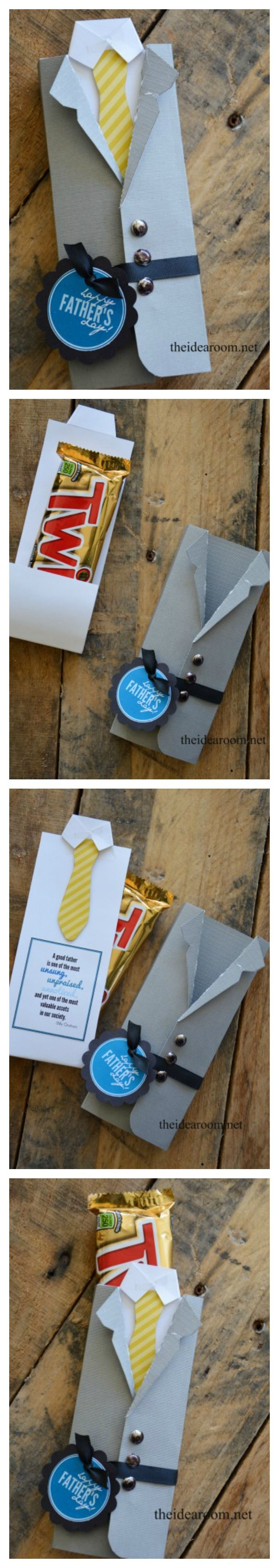 Father's Day Gift–Candy Bar Wrappers
