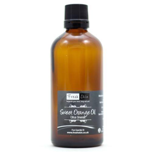 2 drops Sweet Orange Essential Oil