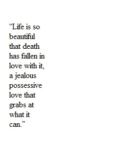 Life Of Pi By Yann Martel; I Loved This Quote, I Even Wrote It