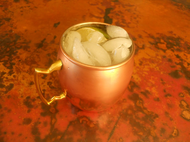The Moscow Mule: An Easy and Ultra Refreshing Mixed Drink with Vodka.  Groom's Signature Drink - Manhattan Mule.  Add Mint Leaves.  Maybe soak Mint leaves in Vodka