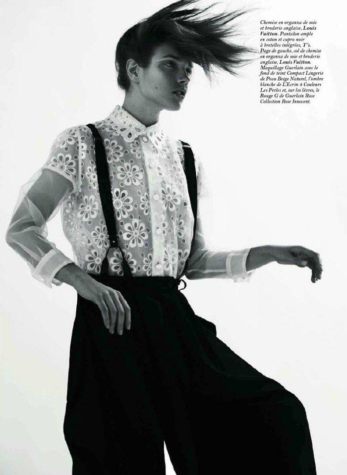 Natalia Vodianova by Marcus Piggott for Vogue Paris