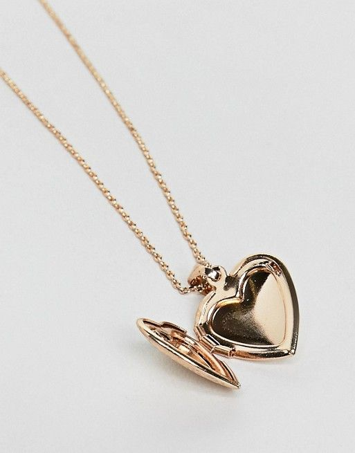 1cc4874fc4 Liars & Lovers gold heart locket pendant necklace | hopes and dreams |  Pinterest | Gold heart locket, Heart locket and Gold necklace