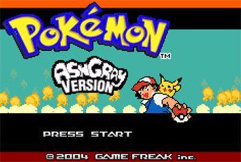 Portada de la descarga de Pokemon Ash Gray